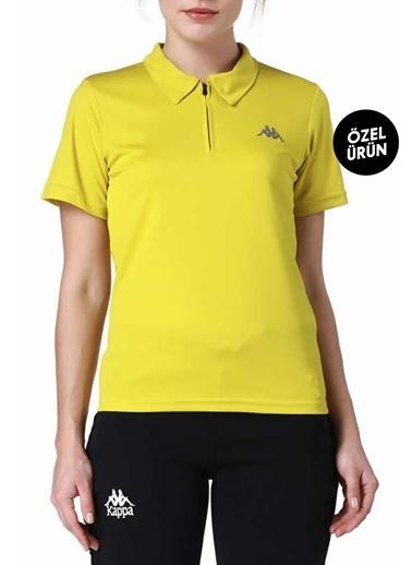 Kappa Polo Slim Fit Unisex T-Shirt Sarı